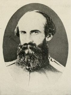 """William E. (Grumble) Jones (1824-64) Virginia  Brigadier General (CSA). West Point Class of 1848 (Cavalry)  Fought in the Indian wars.  Promoted to BG, he served under Stuart, with whom he frequently quarreled.  (""""Grumble"""" apparently was not easy to get along with.)  Fearless in action and dismissive of Union military capabilities, he was killed leading a charge against a superior force."""