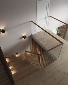 Modern Staircase You are in the right place about Stairs luxury Here we offer you the most beautiful pictures about the Stairs drawing you are looking for. When you examine the Modern Staircase part o Stairs Architecture, Modern Architecture House, Architecture Design, Stair Handrail, Staircase Railings, Staircases, Building Stairs, Stair Decor, House Stairs