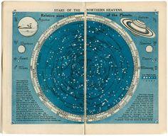 Astronomy map