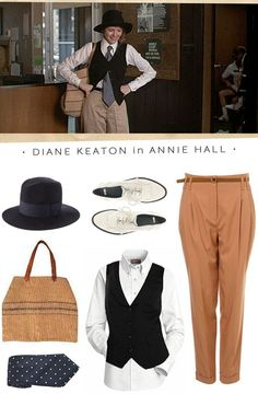 Annie Hall Costume.... halloween next year?