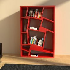 CHRISTIE Bookshelf by ZAD design - design Susanna Caruso