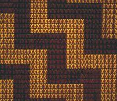 Tukutuku Panel, Field Museum of Natural History Flax Weaving, Weaving Art, Maori Patterns, Maori People, Tapestry Crochet Patterns, Maori Designs, Nz Art, Swedish Weaving, Weaving Designs