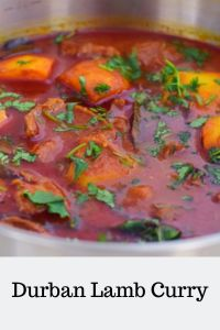 Durban Lamb Curry, a popular South African Indian lamb curry cooked the authentic South African way. A rich, delicious curry with robust flavours Lamb Recipes, Curry Recipes, Meat Recipes, Indian Food Recipes, Cooking Recipes, Braai Recipes, What's Cooking, Rice Recipes, Recipes