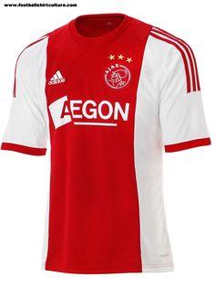 828bc399cfcd Ajax 13 14 Adidas Home Football Shirt Football Uniforms