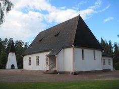 Nummijärvi church. - Kauhajoki, South Ostrobothnia province of Western Finland. - Etelä-Pohjanmaa,