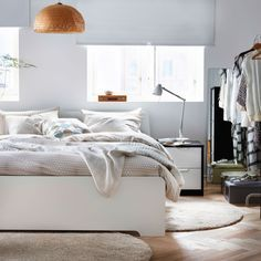 Stretch out and relax in cosy comfort in this perfect bedroom setting.