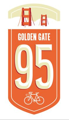 Golden Gate Bridge bike route graphic