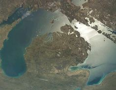 Pic of Michigan from way up :)