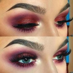 23 Gorgeous Summer Makeup Looks for 2018 Bold, Burgundy Smokey Eye Makeup Look Related posts: Gorgeous Eye Makeup Looks Ideas 30 Gorgeous Wedding Makeup Looks 15 Gorgeous Makeup Looks for Blue Eyes Gorgeous eye makeup looks, pink crease, silvery eye Smokey Eye Makeup Look, Blue Eye Makeup, Eye Makeup Tips, Makeup Goals, Skin Makeup, Makeup Brushes, Burgundy Makeup Look, Makeup Geek, Prom Makeup