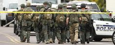 Gunman arrested after shooting spree in Phoenix suburb. (AP)
