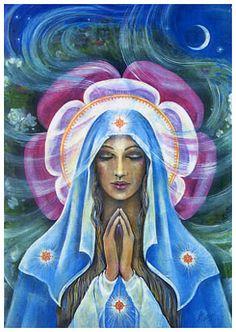 """""""Amados Filhos, Que as bênçãos do amor tragam paz aos vossos corpos, mentes e corações."""" Mãe Maria - canalizada por Jane Monachesi Ribeiro"""