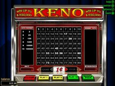 Joker Online Casino is your guide to play online Keno and other Casino Games Online. Best Place to play Keno Online. Online Casino Games, Casino Sites, Online Casino Bonus, Spin, Igt Slots, State Lottery, Lottery Games, Ball Drawing, Mobile Casino