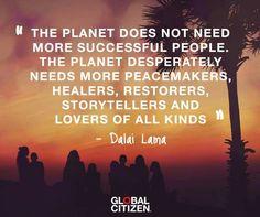 Dalai Lama on Success