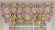 "Canne Handkerchief 50"" Curtain Valance"