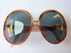 Oversized Sunglasses - 1970s