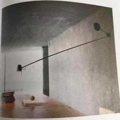 Luminária articulada de parede