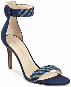 Marc Fisher Braelin Shoes Blue Braided Ankle Strap Sandals 6 M NIB NEW $79 889915783525 | eBay