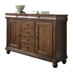 Shop Liberty Furniture  589-SR5842 Rustic Traditions Server at ATG Stores. Browse our buffets, sideboards & hutches, all with free shipping and best price guaranteed.