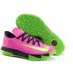 Cheap Nike Zoom KD VI Pink Green Black-Cheap Lebron,Cheap Lebron 10,