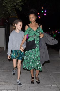 Fall for florals like Thandie in Self Portrait #DailyMail