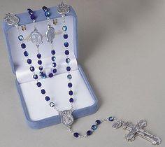 Ave Maria Policemen Police Rosary, St. Michael the Archangel Rosary 21 Inches Long http://www.amazon.com/dp/B004QVAYOG/ref=cm_sw_r_pi_dp_U-XDpb0AB40NB $29.74