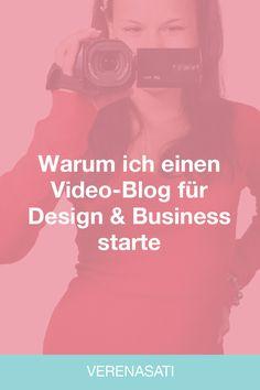 Weil es keinen gibt. Punkt. Beitrag beendet. ;-) Ja, ich habe keinen anderen Video-Blog zum Thema Design und Business im deutschen Raum gefunden. Falls Du einen kennst, dann schreib ihn mir in die Kommentare. Ich habe allerdings aus einem anderen Grund meinen Vlog gestartet. Warum erfährst Du in diesem Beitrag.     Bloggen - Schreiben oder Videos Angefangen hat alles