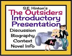 The definition of a social class in the outsiders a novel by s e hinton