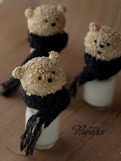 Teddy bear bread recipe (Bread Bears Recipe) :: happy rainbow ★  ! (! Yapurogu) yaplog byGMO
