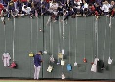 """So, the latest addition to my bucket list is definitely """"go fishing for autographs at Fenway Park."""""""