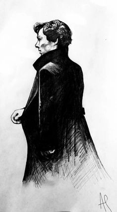 Image de sherlock, bbc, and fanart  Love Sherlock BBC? Check out our Sortable Sherlock BBC Fanfiction Rec List - https://fanfictionrecommendations.com/sherlock/ Sherlock Drawing, Sherlock Series, Sherlock Fandom, Sherlock John, Detective Sherlock Holmes, Elementary Sherlock, High Functioning Sociopath, Sherlock Holmes Benedict Cumberbatch, Deduction