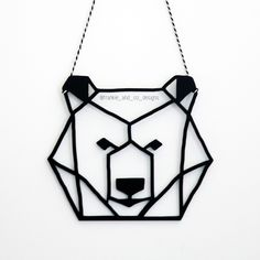 Viktor Bear Head Cutout
