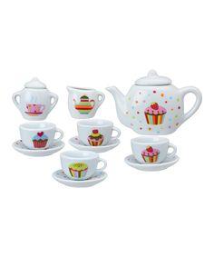 Look at this #zulilyfind! ALEX Sweet Cupcake Tea Set by ALEX #zulilyfinds