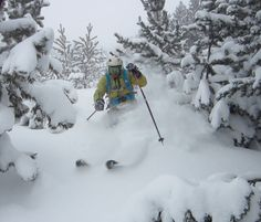 Powder in Baqueira Beret (Spain)