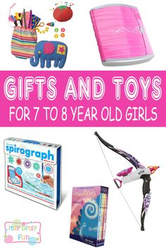 Best Gifts For 7 Year Old Girls Lots Of Ideas 7th Birthday Christmas