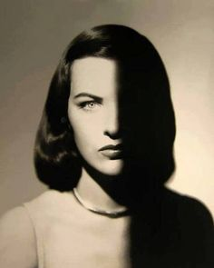 "flashofgod: ""Man Ray, Ella Raines, 1947. """