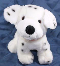 """Caltoy Dalmatian Dog Puppy Plush Stuffed Animal 12"""" Soft Lovey Toy #Caltoy"""