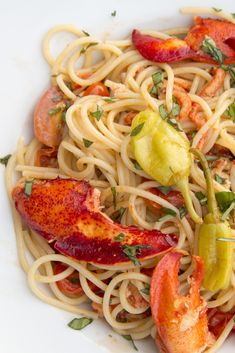 lobster fra diavalo bianco is and easy and delicious restaurant style meal you can make in your own home