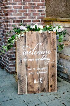 Meritage Resort - Winter Wedding - Welcome Sign - Napa- Adriana Klas Photography-418-2