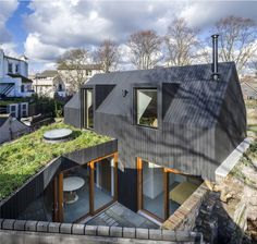 Crossfield Street House by Jonathan Pile Architect - Dwell Architecture Today, Architecture Design, Gable Roof Design, Self Build Houses, Street House, London House, Timber House, Building A House, New Homes