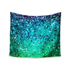 "KESS InHouse Ebi Emporium ""Dream"" Blue Teal Wall Tapestry... https://www.amazon.com/dp/B018TPNF0E/ref=cm_sw_r_pi_dp_x_y8-7xb2SBKYPY"