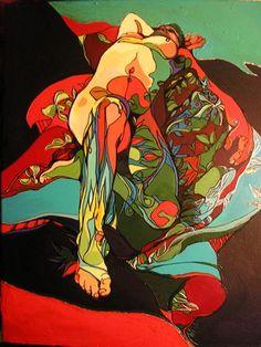 Papatuanuku New Zealand Art, Maori Art, Kiwiana, Book Projects, Gods And Goddesses, Surreal Art, Erotic Art, Mural Ideas, Art Ideas
