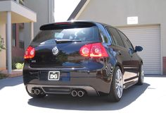 golf mk5 rieger twin exhaust - Google Search