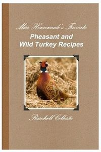 Pheasant and wild turkey recipes...Paul got a few turkey's...gotta get cooking!