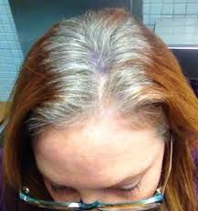 Image Result For How To Grow Out Dyed Hair To Gray Transition To Gray Hair Gray Hair Growing Out Red Hair Going Grey
