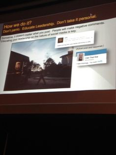 """Be prepared for the conversation"" @VincentWash #SMCATL @UPS"