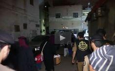 ▫️ لقطات مثيرة من مداهمات أمنية في جدة ▫️ #محافظة_جدة ▫️ #مقطع_فيديو ▫️