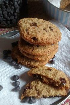 Cookies sem glúten veganos