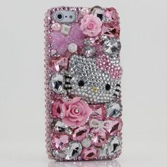 Swarovski phone covers are a very special gift and now the slimmer iPhone 5 has just been released there are a couple of great looking Swarovski iPhone 5 covers to choose from. The very popular  Hello Kitty cover for the girls and a Bling Angels which is suitable for both men and women.
