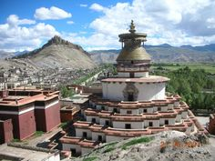 Kumbum Stupa, Phalkor Monastery - Gyantse Tibet