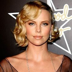 Charlize+Theron+Chin-length+curls-20+hairstyle0celebrity